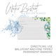 Succulents Recipe Cards, 4x6 in. Water Resistant - Envelopes- dashleigh