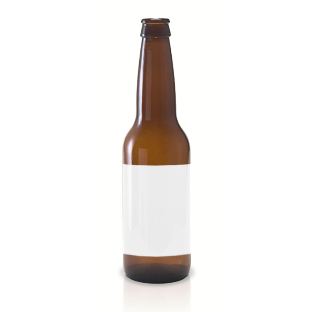 15 Full Wraparound Kraft Beer Bottle Labels for Beer Bottles, 7 x 3 inches - Labels- dashleigh