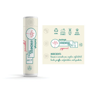60 White Lip Balm Labels with Security Seal,  2 x 2.15 in., Waterproof - Labels- dashleigh
