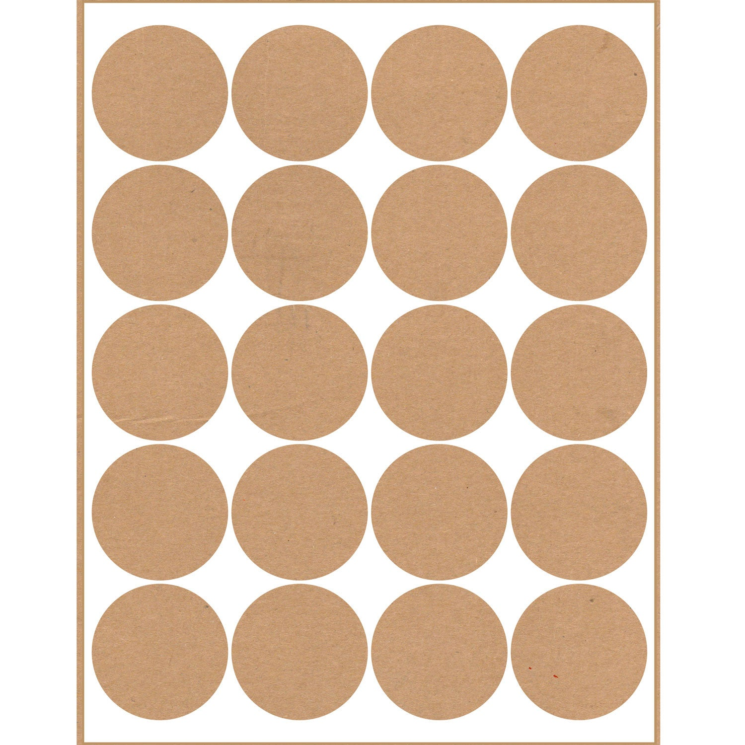 40 Printable Blank Mason Jar and Lid Labels, Kraft - Labels- dashleigh
