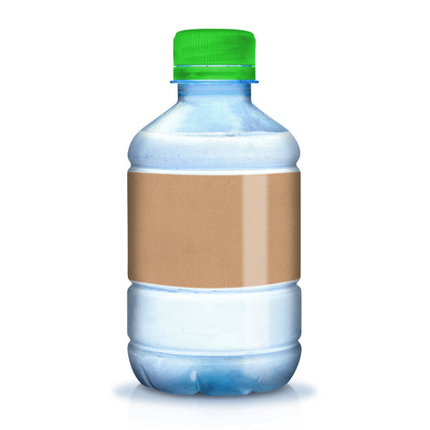 25 Printable Brown Kraft Water Bottle Labels, 7 x 2 in - Labels- dashleigh