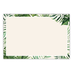 Tropical Note Cards, 4 x 6 inches, Set of 50 - Stationery- dashleigh