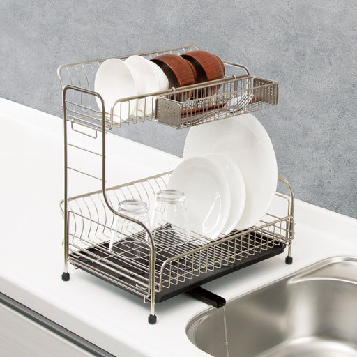 TWO LAYERS DISH RACK MC-2R TYBS-0170