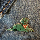 Dog Handmade Pin - Labrador
