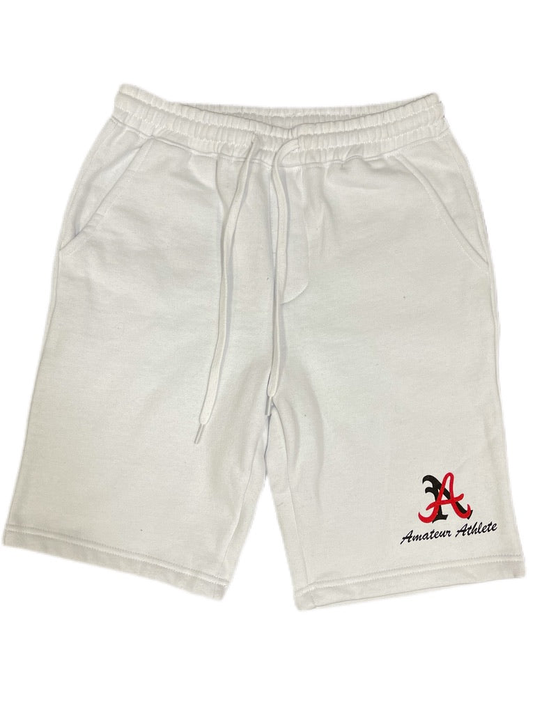 AA White Cotton Short