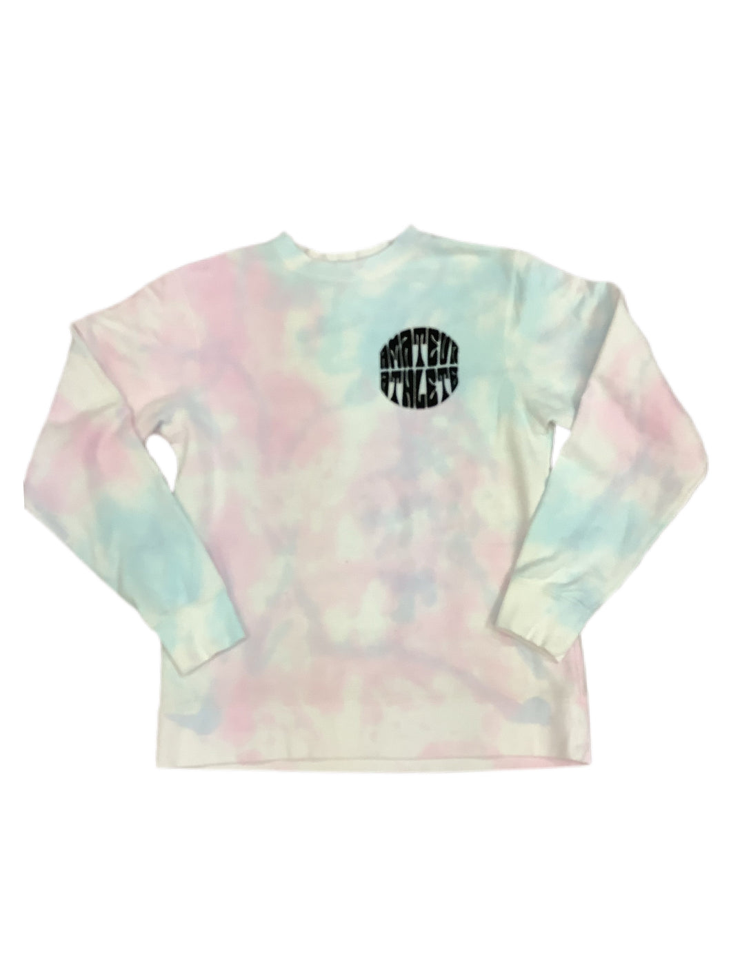 AA Crew Sweater Cotton Candy Tie Dye