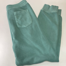 Load image into Gallery viewer, Pigment Dyed Mint Sweat Pants