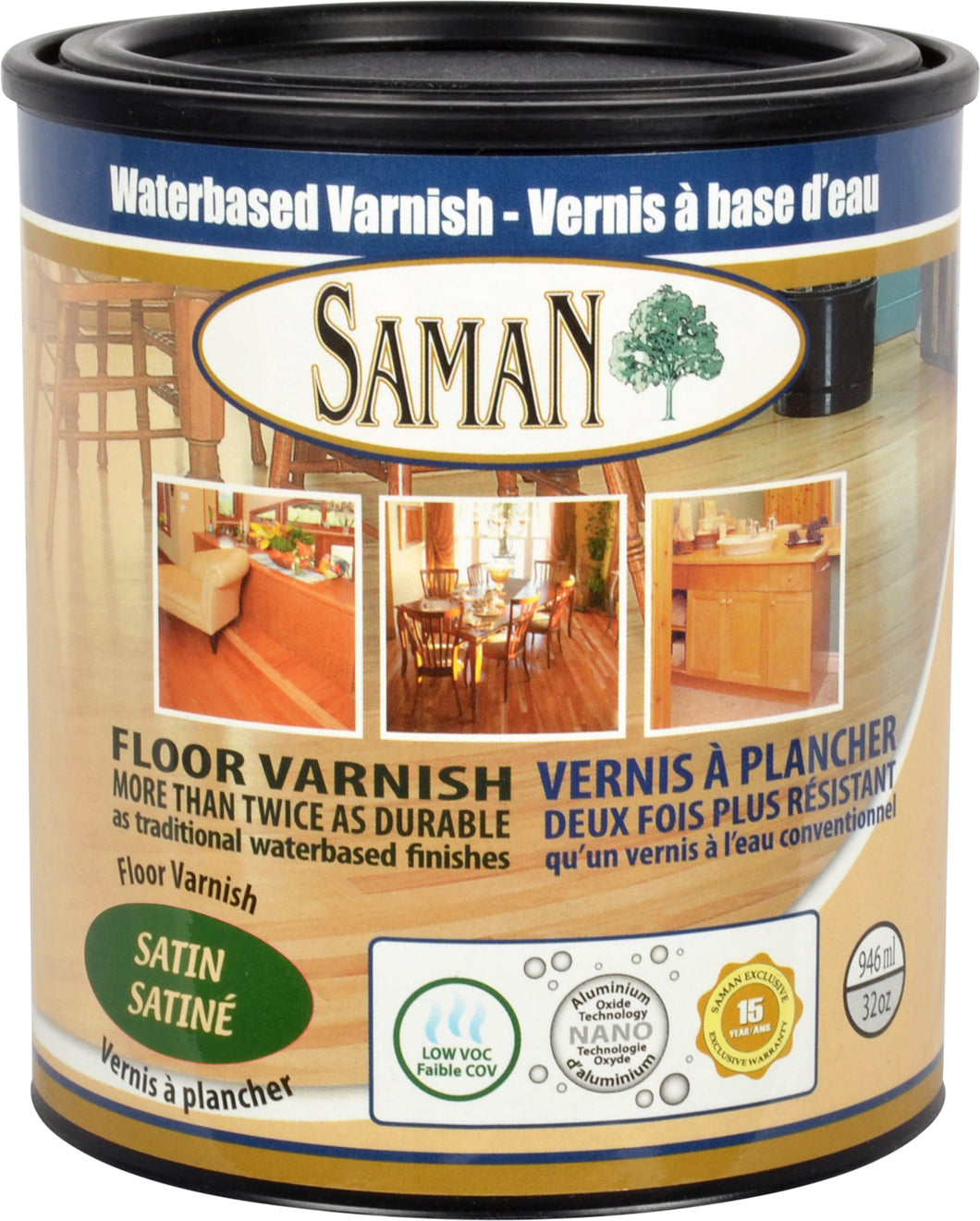 SamaN Interior Waterbased Varnish