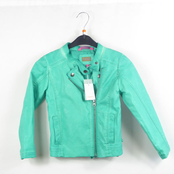 Jacke - noppies - Lederjacke - 110 - mint - Girl - NEUWARE