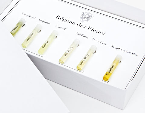 Regime des Fleurs Debut Collection Sampling Flight