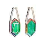 Noor Fares Anahata Trapiche Earrings