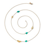Makal Ottavia Multi Nugget Necklace