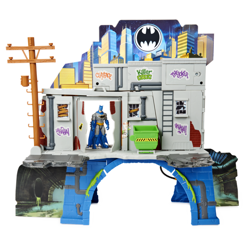 Batman 3 in 1 Batcave Playset