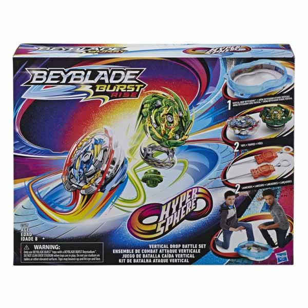 Beyblade Burst Rise HyperSphere Battle Set
