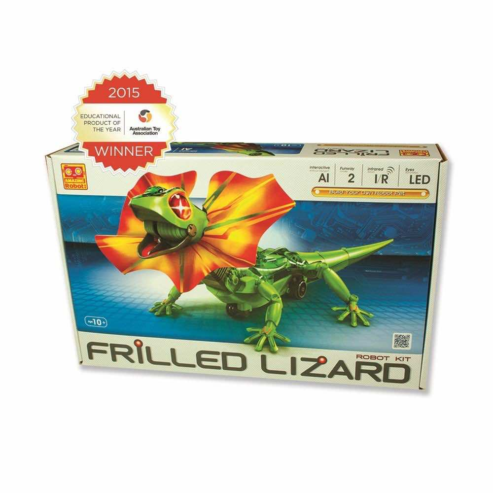 Johnco Frilled Lizard Robot