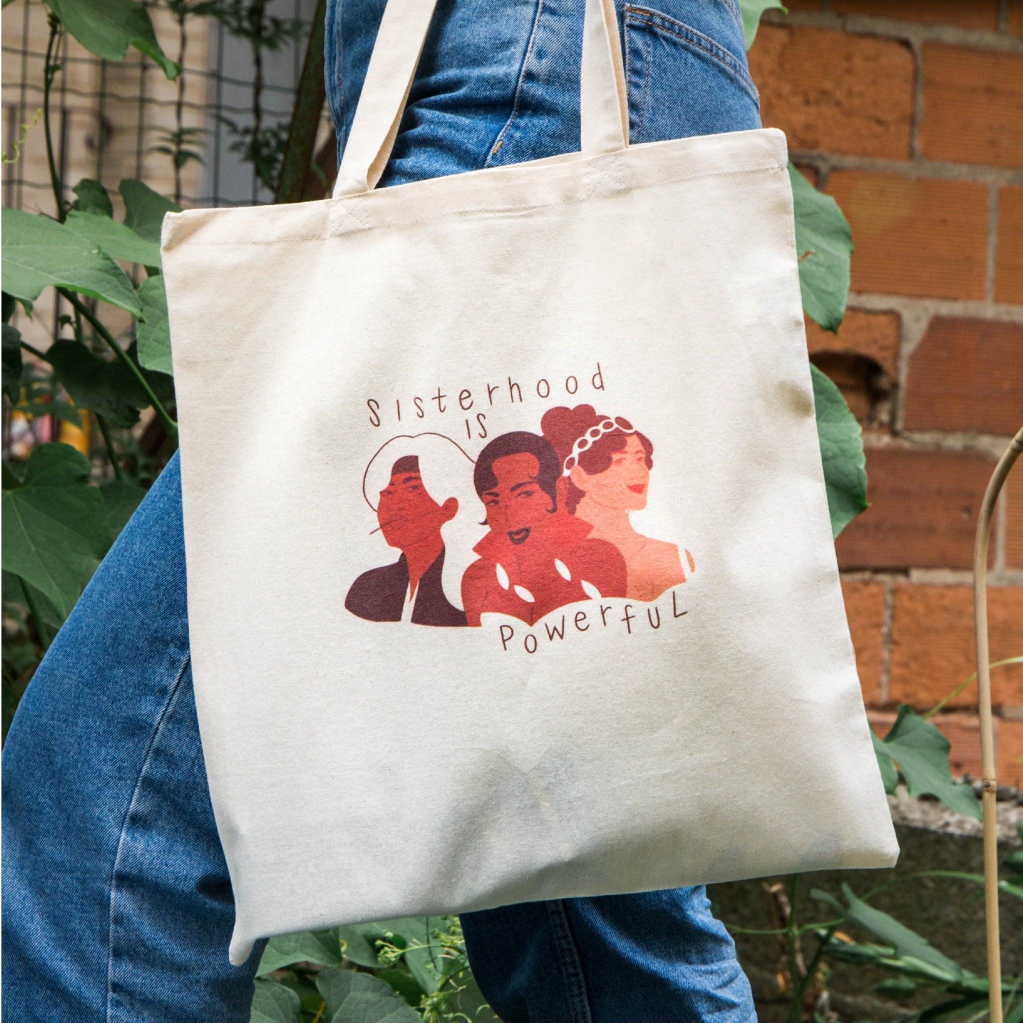 Totebag Sisterhood is Powerful
