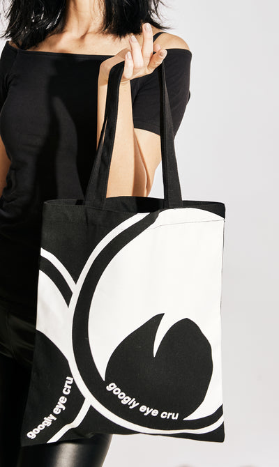 A Googly Eye Cru Lurker Tote Bag