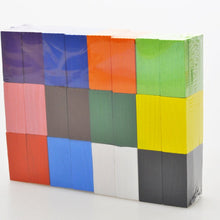 Load image into Gallery viewer, 120 Pcs Domino Set/20 pcs 12 Color Wooden Dominos Blocks Set