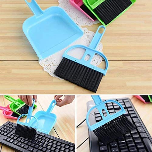 Mini Dustpan Supdi with Brush Broom Set for Multipurpose Cleaning Laptops, Keyboards, Dining Table, Car Seats, Carpets