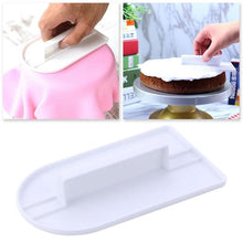 Load image into Gallery viewer, 1PC Cake Candy Pastry Decorating Icing Smoother Cream Scraper Fondant Polisher Finisher Cake Baking Finishing Tools