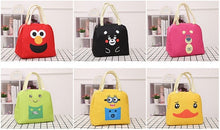 Load image into Gallery viewer, Cartoon Insulated Lunch Bag(Random Colors)