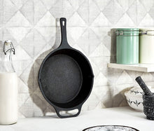 Load image into Gallery viewer, Cast Iron Skillet Pre Seasoned -10 Inch with Hand Gloves & Wooden Ladles