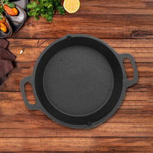 Load image into Gallery viewer, Cast Iron Skillet  Preseasoned -10Inch (Double Handle)