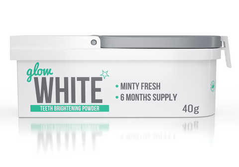 GLOW WHITE Teeth Brightening Powder