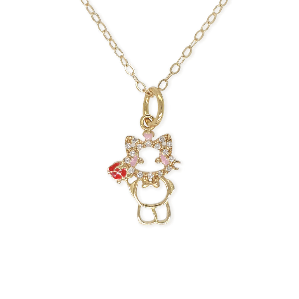 """Maya The Kitten"" Necklace - Baby Fitaihi"