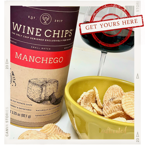 Cultivated Manchego Wine Chips