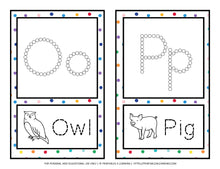 Load image into Gallery viewer, Fine Motor Task Cards: ABC Q-Tip Pack - Printables 4 Learning