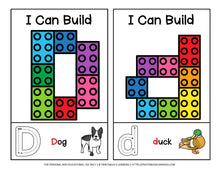 Load image into Gallery viewer, Fine Motor Task Cards: ABC Lego Pack