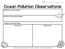 Load image into Gallery viewer, Ocean Pollution Science Experiment: Can You Clean Up The Pollution?