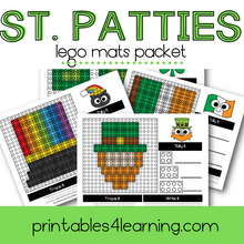 Load image into Gallery viewer, St. Patrick's Day Lego Mats