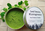 Microgreen Stage Pea Protein Powder - By Leaf Sweets