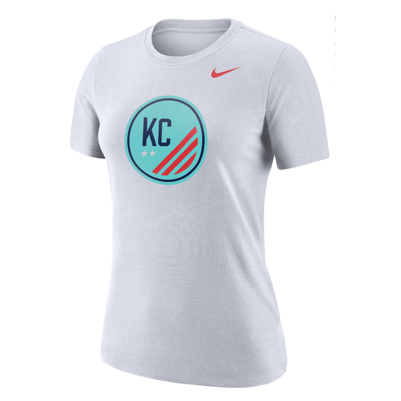 Women's Dri-Fit Cotton Short Sleeve Logo Tee