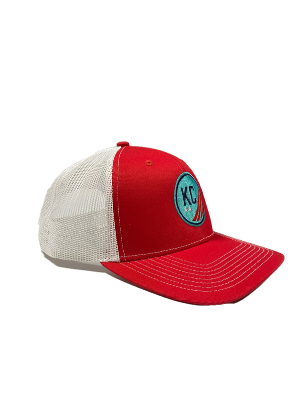 Mesh Snapback Hat with Crest