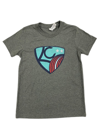 KC NWSL x Three KC Tee (Youth)