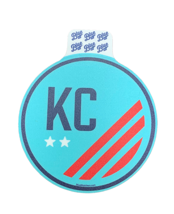 KC NWSL Decal Stickers