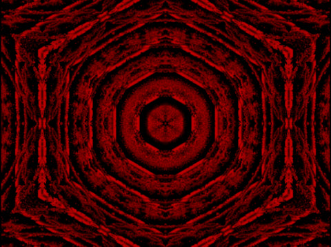 Royalty Free Video VJ Loops: Scarlet Portals