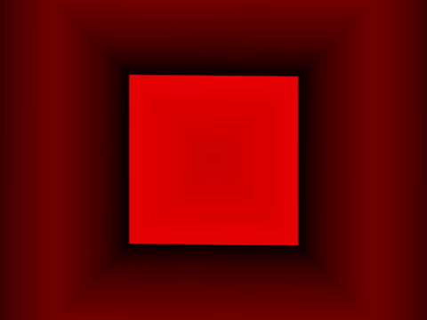 Royalty Free Video VJ Loops: Red Square Falling