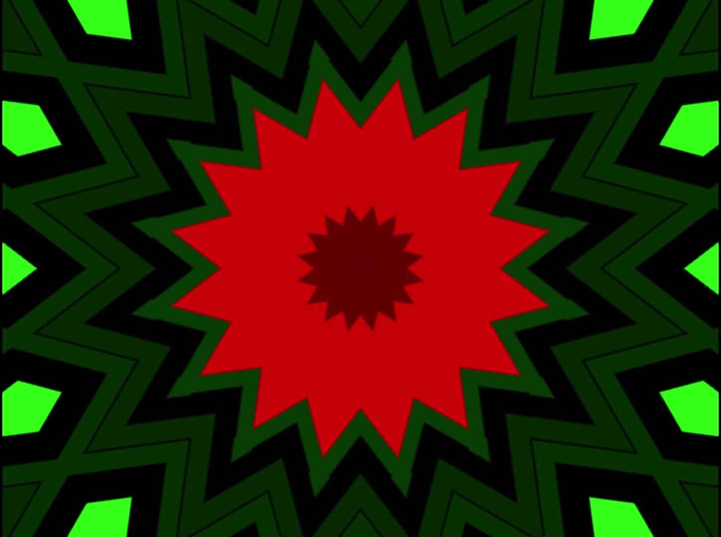 Royalty Free Video VJ Loops: Three Mandalas