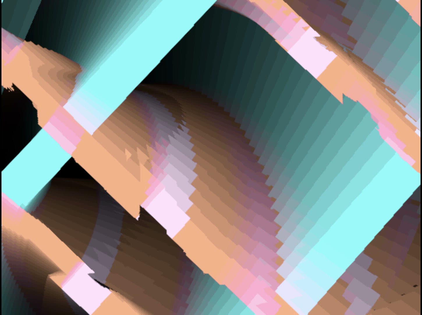 Royalty Free Video VJ Loops: Spiral Groove