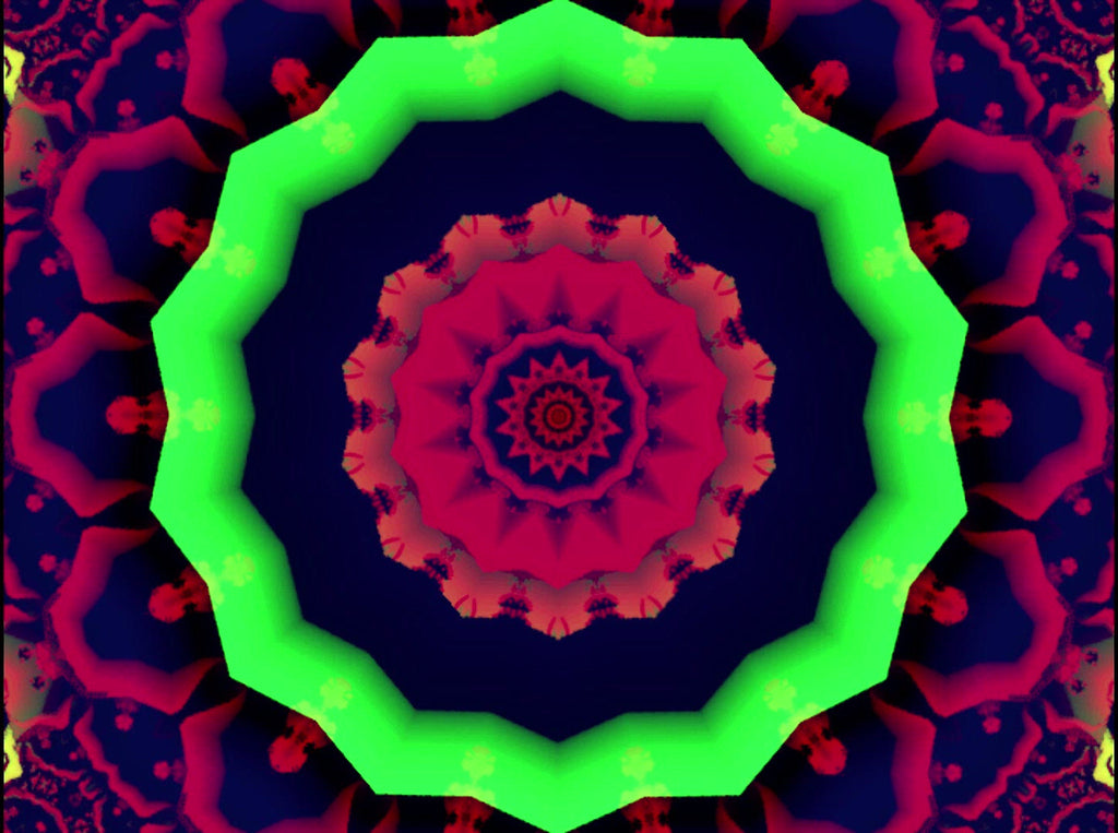 Royalty Free Video VJ Loops: Flower Power