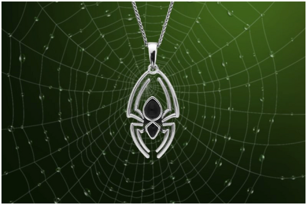 sterling-silver-whitby-jet-spider-necklace