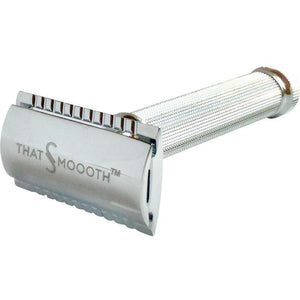 Razors - Classic Two-Piece Single Blade Safety Razor (Rasurador Clásico Con Navaja De Doble Filo)