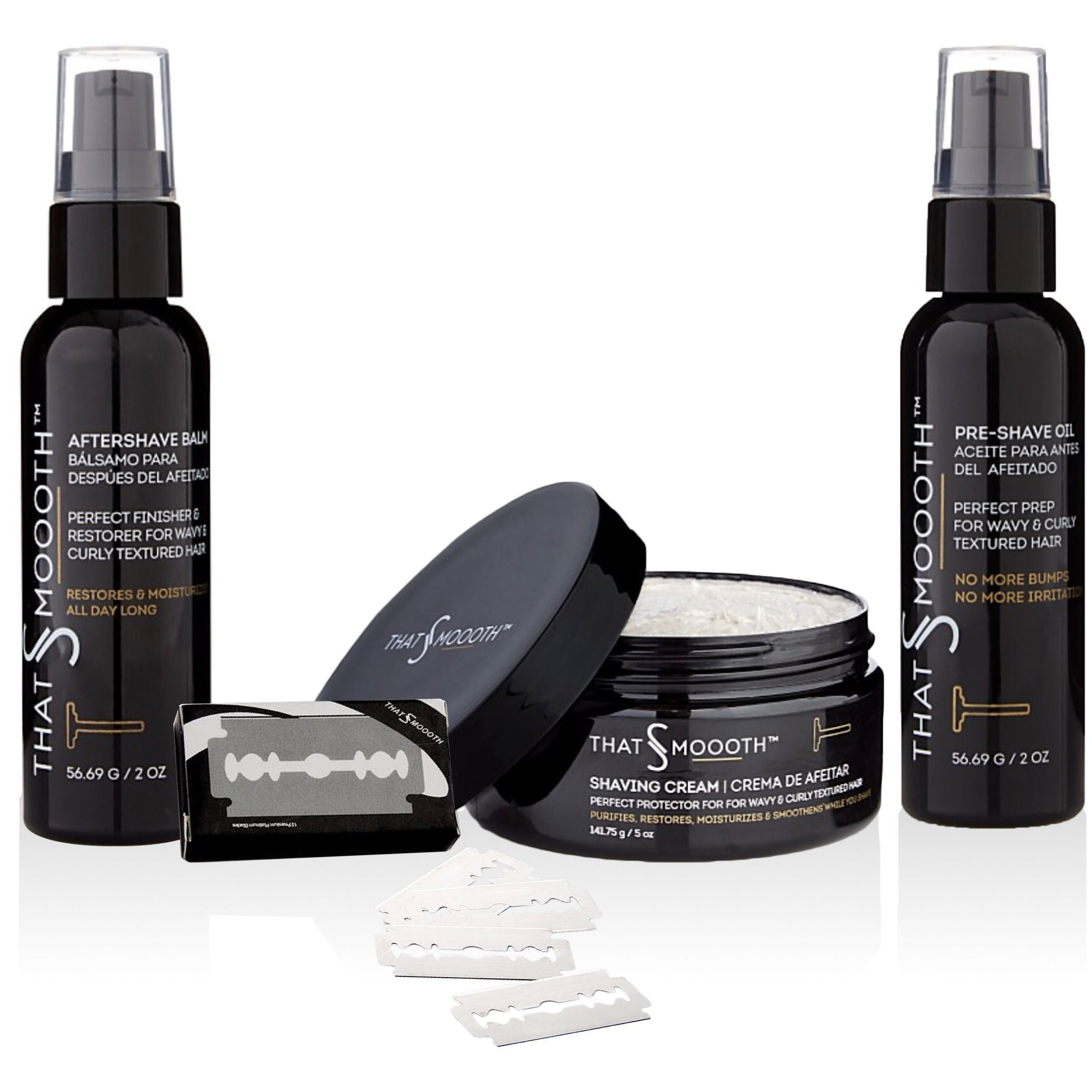 SHAVING SETS - Premium Natural Shaving Products Set