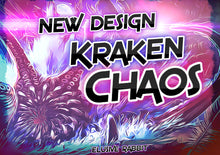 Carica l'immagine nel visualizzatore di Gallery, Kraken Chaos Diamond Treasure Heels Custom Hand Sculpt Paint Shoe Size 3 4 5 6 7 8  High Wedge Sea  Creature Monster Mythical Octopus Squid