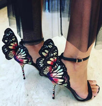 Load image into Gallery viewer, New Design High Quality Women Butterfly High Heels Sandals Exquisite beautiful Wing Shoes Female Banquet Paty Dress Shoes
