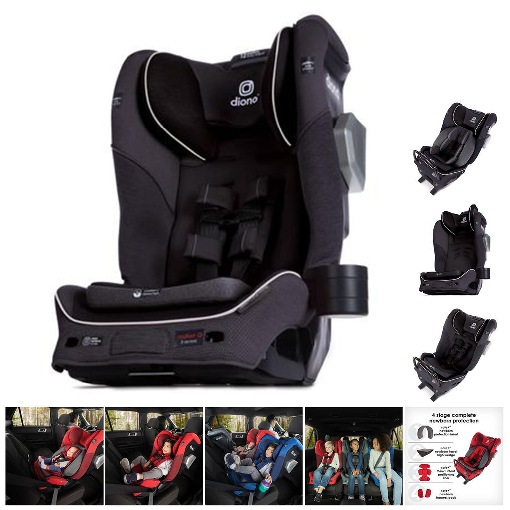 Diono - Car Seat Convertible all-in-one - Radian 3QXT latch - Black